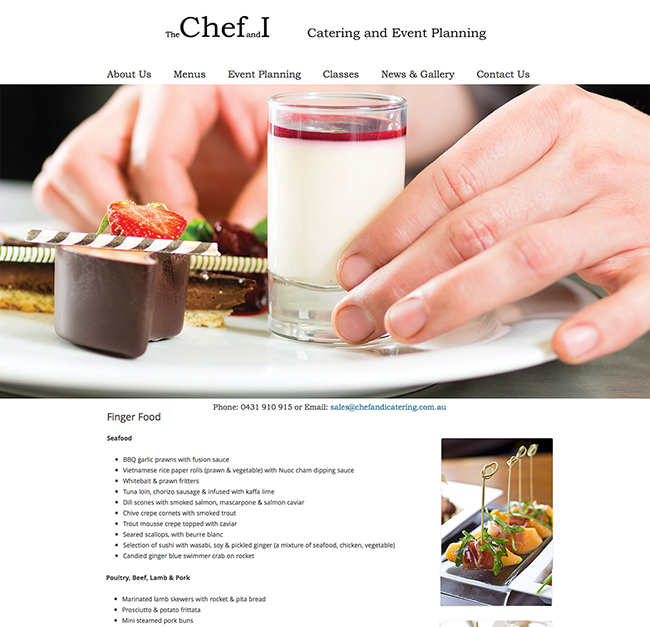 Chef & I Catering