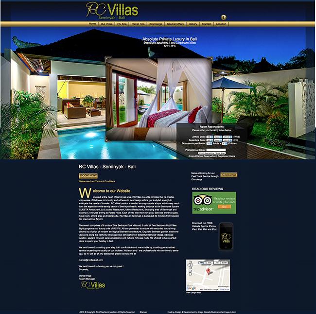 RC Villas Seminyak Bali