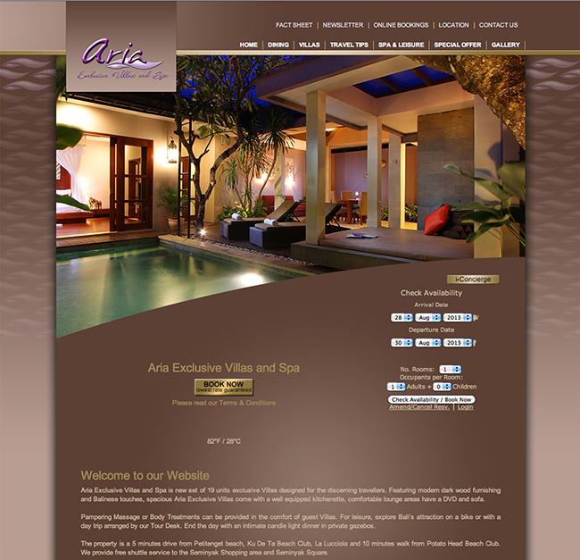 Aria Exclusive Villas & Spa - Seminyak - Bali, Bali Accommodation, Seminyak Villas