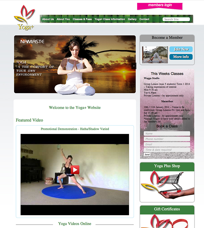 yoga plus online videos