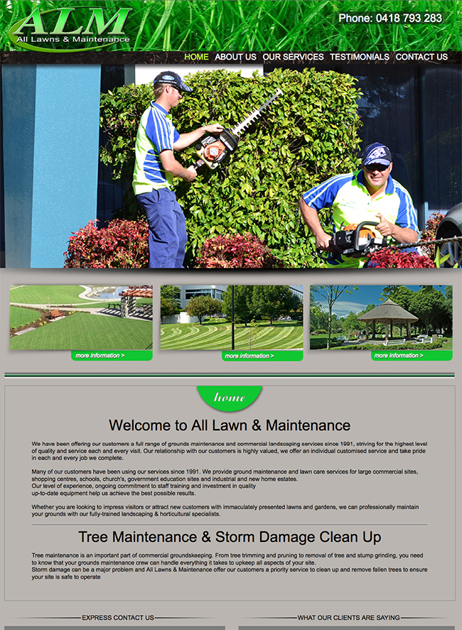 All Lawns & Maintenance