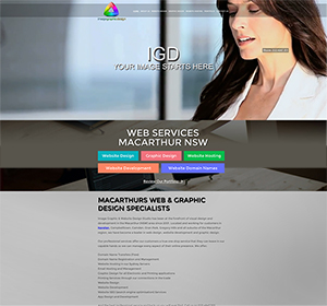 Macarthur Website Design
