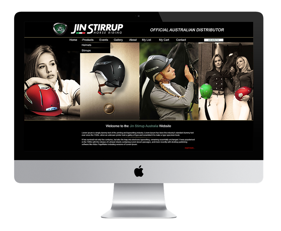 Jin Stirrup Australian Distributors